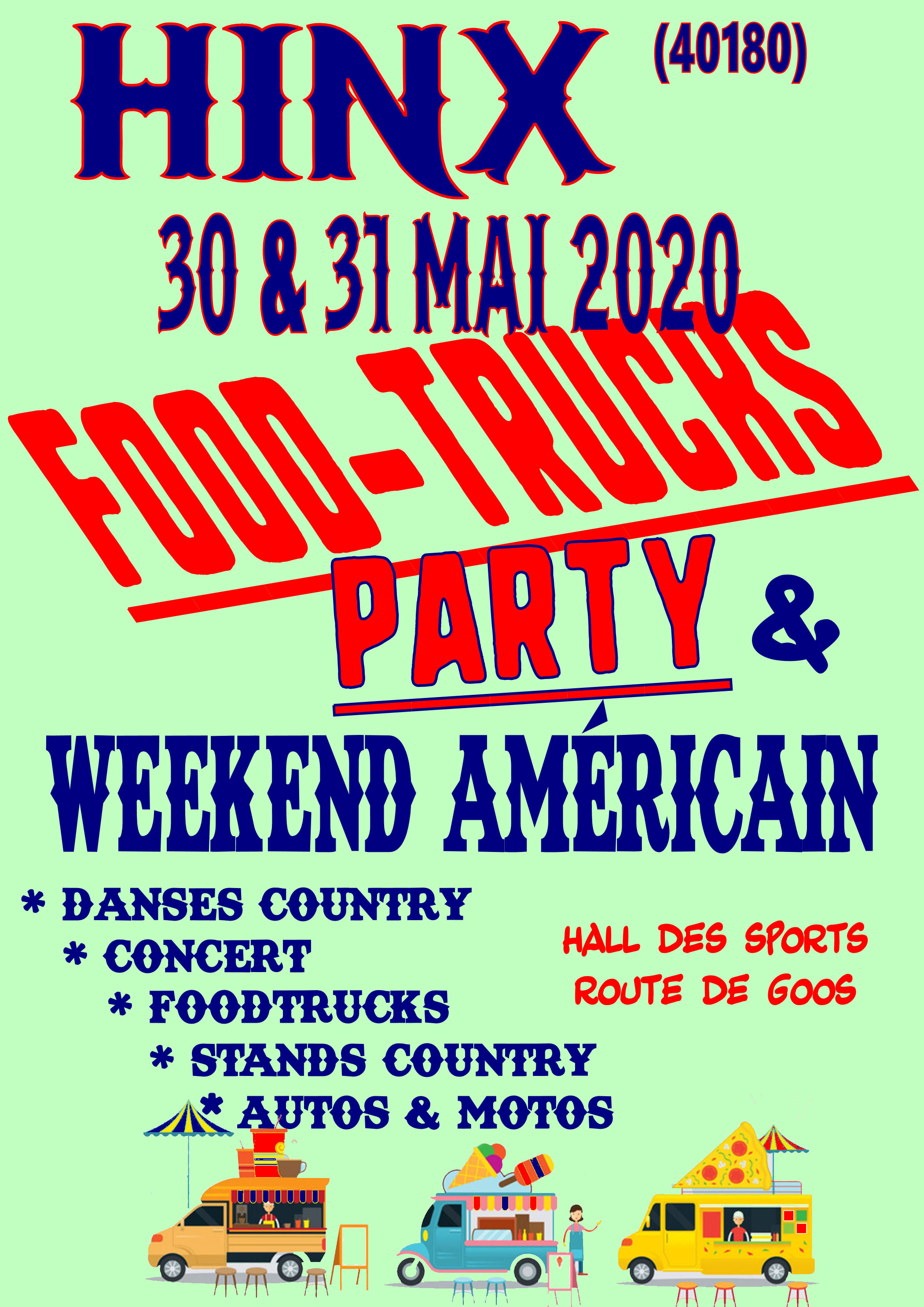 Foodtrucks et JA   30&31 05 2020